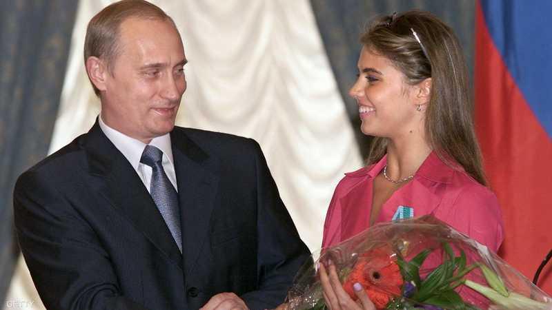 شائعات ترجح أن تكون كاباييفا زوجة بوتن القادمة