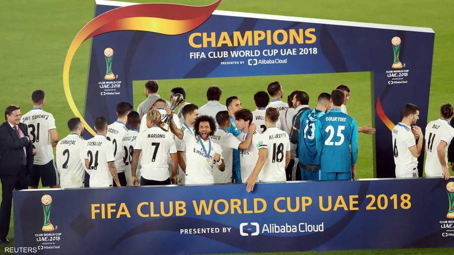 ريال مدريد النادي الأكثر فوزا بالبطولة