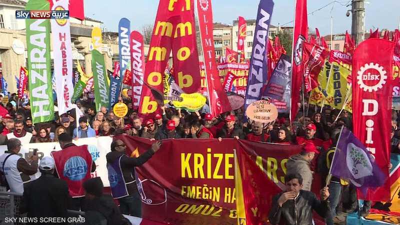 بعد مظاهرات الغلاء.. تركيا ترفع الحد الأدنى للأجور 26%