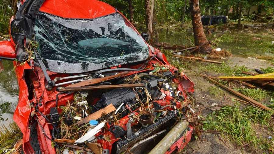 إندونيسيا تتعرض باستمرار للكوارث الطبيعة بحكم موقعها