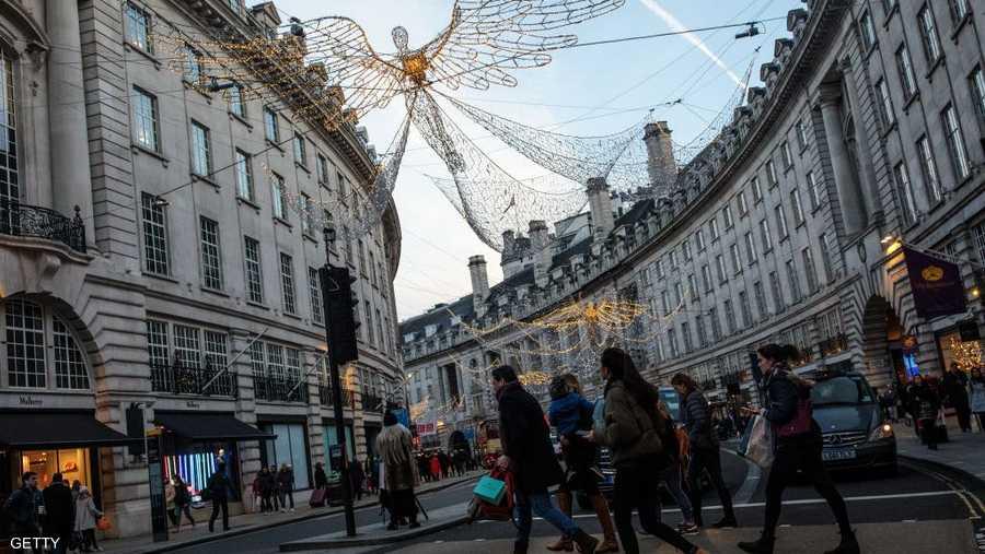 التسوق في شوارع لندن