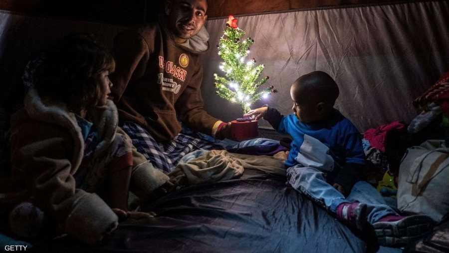 مهاجرون غير شرعيين في أميركا وأعياد الميلاد