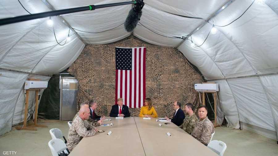 نفى الرئيس الأميركي وجود خطط لسحب قواته من العراق