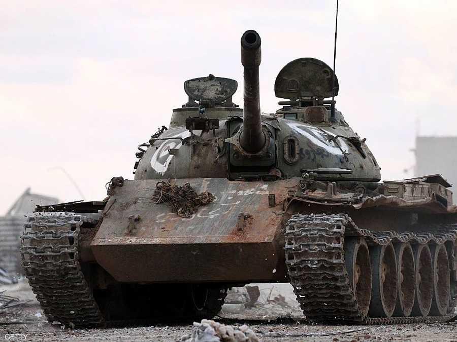 الهجوم استهدف معسكرا للجيش الليبي.