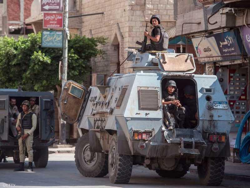 كانت محافظة شمالي سيناء مركز العمل ضد الإرهاب بمصر