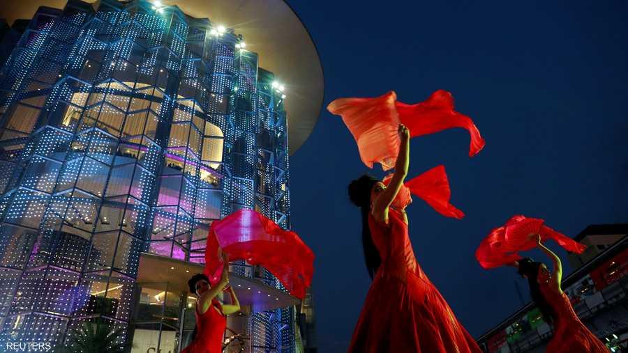 رقصات واحتفالات في عاصمة تايلاند