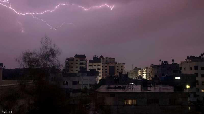 طقس ماطر في الأراضي الفلسطينية.