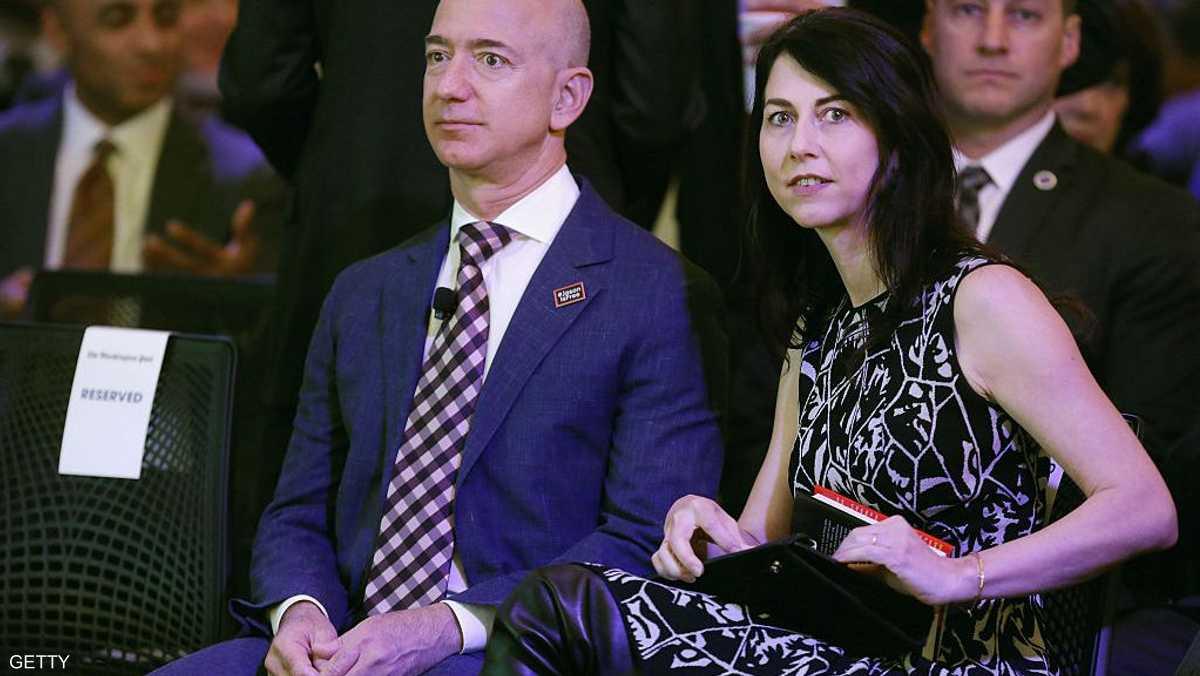 الزوجان بيزوس