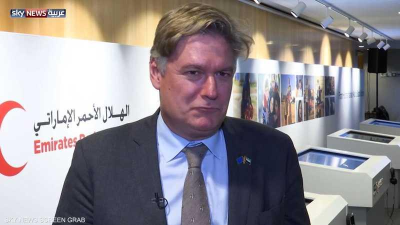 وايت: الندوة فرصة لمعرفة جهود الإمارات الإنسانية