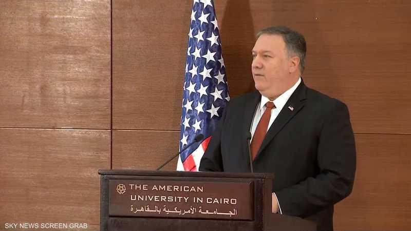 بومبيو: سنشكل تحالفا إستراتيجيا مع دول الخليج ومصر والأردن