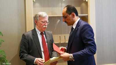بولتون: المحادثات العسكرية بين أميركا وتركيا مستمرة