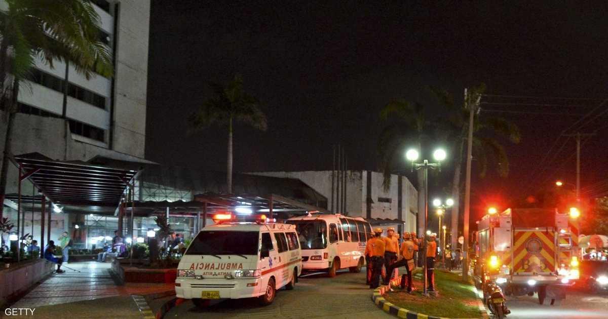 16قتيلا في حريق داخل عيادة بالإكوادور