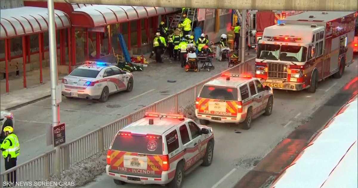قتلى ومصابون بحادث سير مروع في كندا