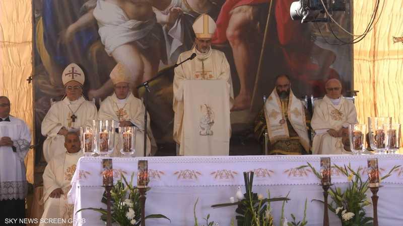 الطائفة الكاثوليكية تحيي الحج لموقع تعميد المسيح يالأردن