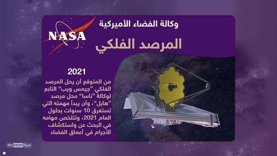 وفي حين تخطط ناسا لاستبدال مرصد هابل