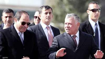 تطورات المنطقة وتعزيز التعاون على رأس القمة الأردنية المصرية