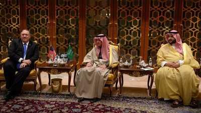 بومبيو يصل الرياض في إطار جولته بالشرق الأوسط