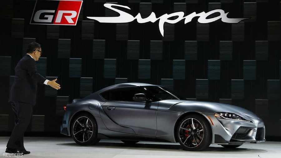 """تويوتا تكشف عن سيارتها الرياضية """"سوبرا""""."""