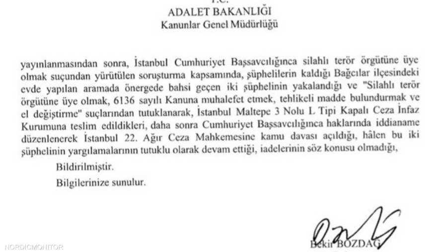 وثائق تثبت علاقة أبو بنات بالمخابرات التركية