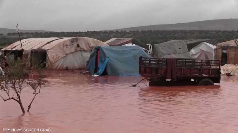 وفاة 15 طفلا سوريا نتيجة البرد ونقص المساعدات