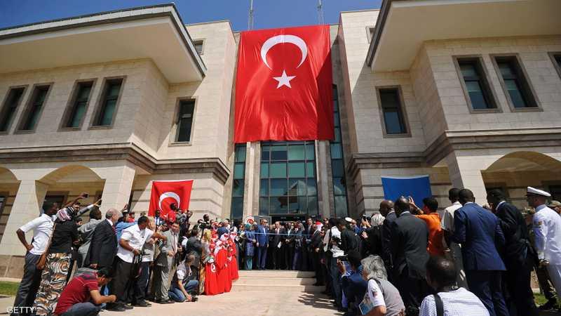 أردوغان يفتتح السفارة التركية في مقديشو
