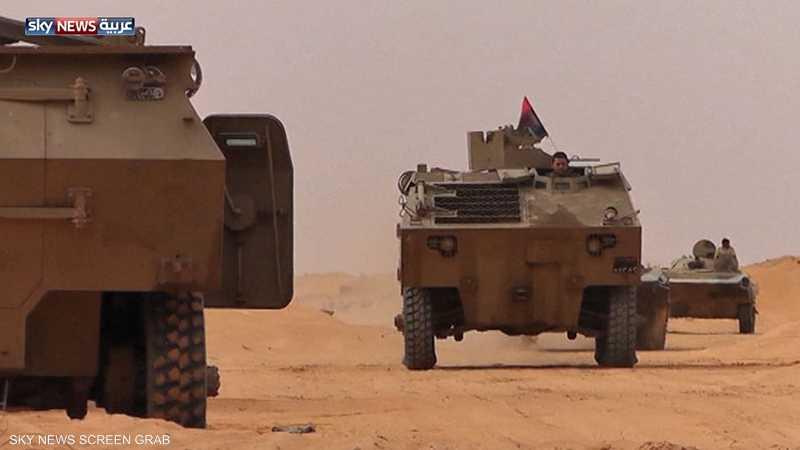 ليبيا.. الجيش يحارب الإرهاب جنوبا
