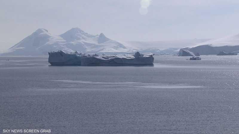 تسارع ذوبان جليد القطب الجنوبي