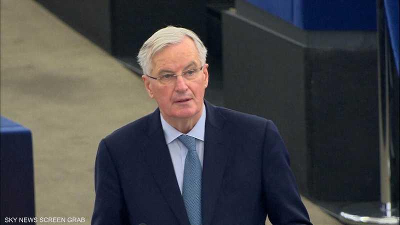 بارنييه يحذر من مخاطر خروج بريطانيا من دون اتفاق