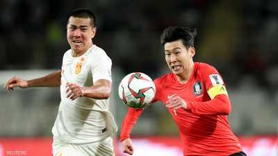 سون هيونغ مين تألق أمام الصين