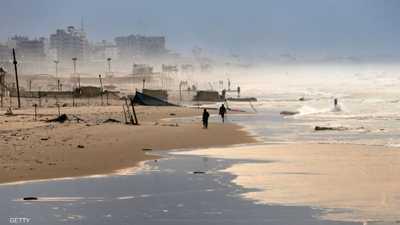 العاصفة تصل غزة.. وسقوط ضحايا وخسائر فادحة