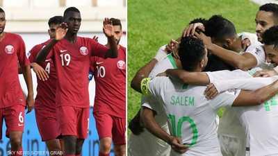 تنافس قطري سعودي على صدارة المجموعة