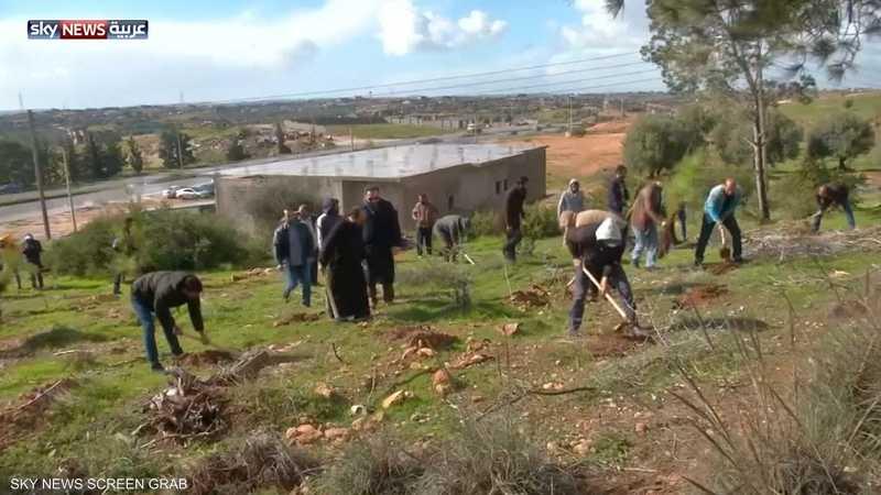 ليبيا.. مبادرة لزراعة الأشجار