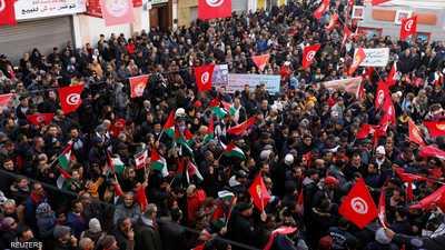 إضراب عام يشل الحركة في تونس