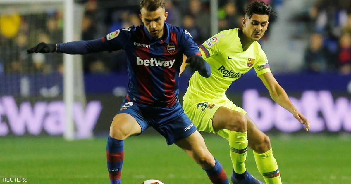 """""""خطأ كارثي"""" قد يقصي برشلونة من الكأس"""
