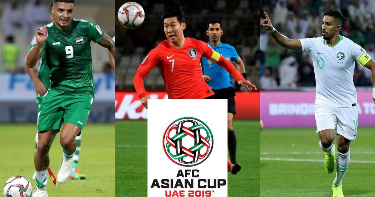 دور الـ16 من كأس آسيا.. من يواجه من؟