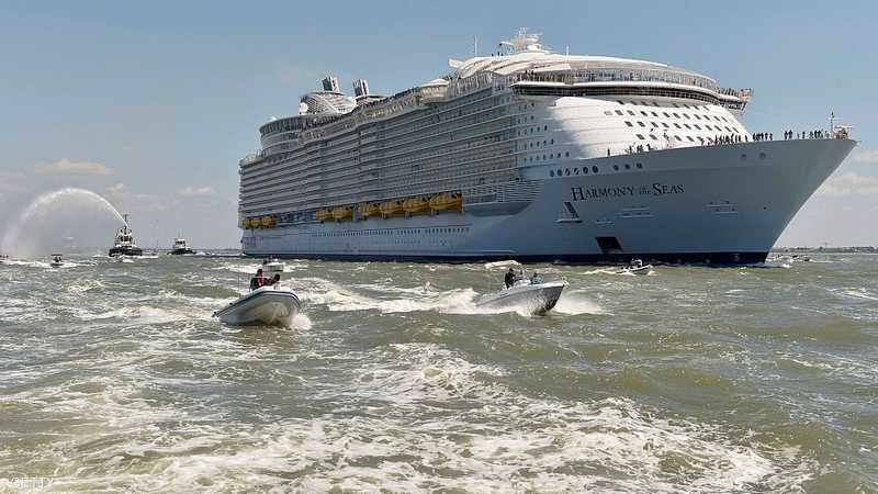تعد أكبر سفينة سياحية في العالم