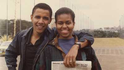 """أوباما وميشيل.. صورة للتاريخ في يوم """"أعز صديقة"""""""