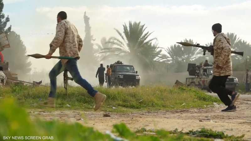 الاشتباكات المسلحة بين ميليشيات طرابلس في ليبيا تتصاعد