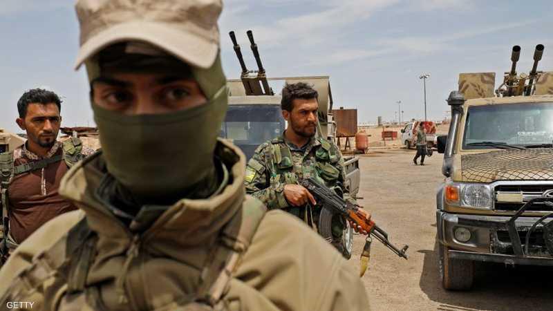 مقاتلون في صفوف قوات سوريا الديمقراطية - لقطة أرشيفية