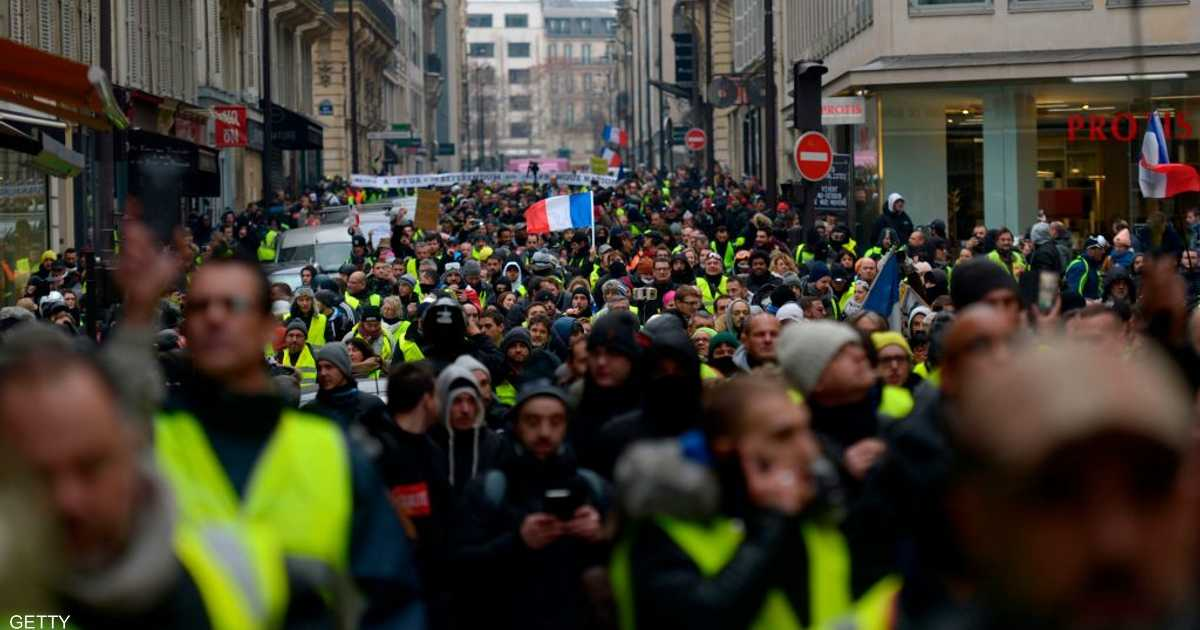 فرنسا.. سبت السترات الصفراء في