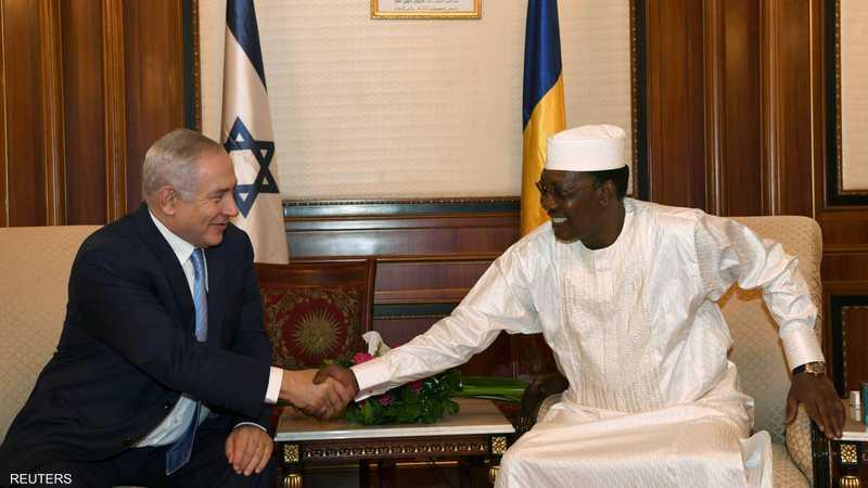 نتانياهو يعقد اجتماعا مع الرئيس إدريس ديبي