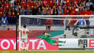 """فيتنام """"تصعق"""" الأردن وتتأهل لربع نهائي كأس آسيا"""