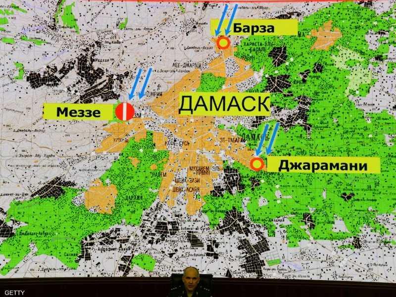 روسيا تعلن تفاصيل الضربة الإسرائيلية وخسائر الجيش السوري 1-1219918.jpg