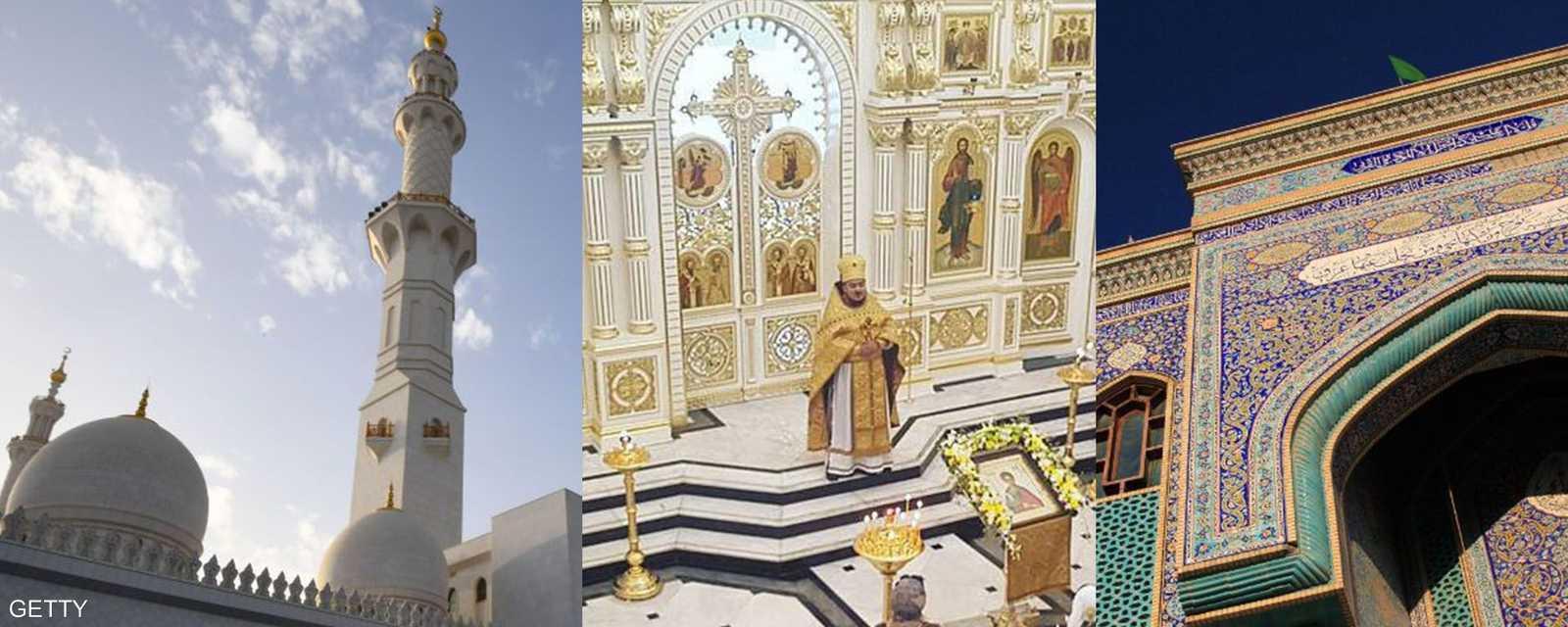 صروح دينية في الإمارات