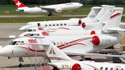 """1500 طائرة خاصة """"تغزو"""" دافوس"""