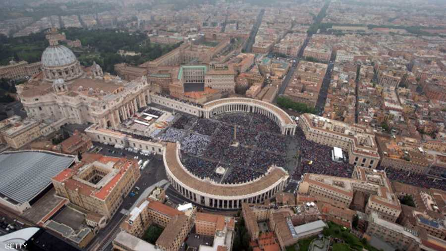 الفاتيكان تم الاعتراف بها دولة في العام 1929.