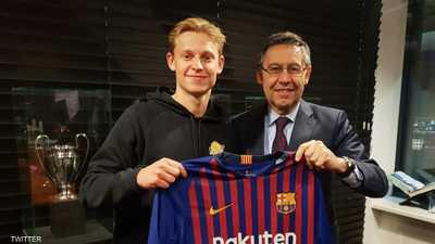 """برشلونة يقتنص """"الموهبة الهولندية"""""""