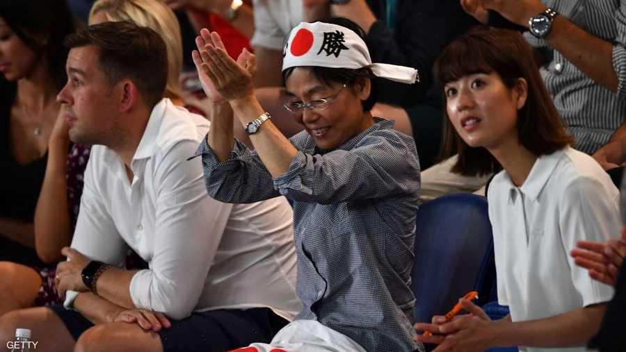 نعومي أوساكا باتت الاسم الأكثر شهرة حاليا في اليابان، وتحظى بدعم ومساندة جماهيرية كبيرة.