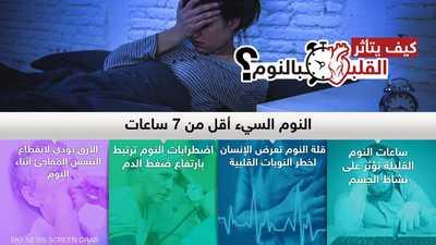 كيف يتأثر القلب بالنوم