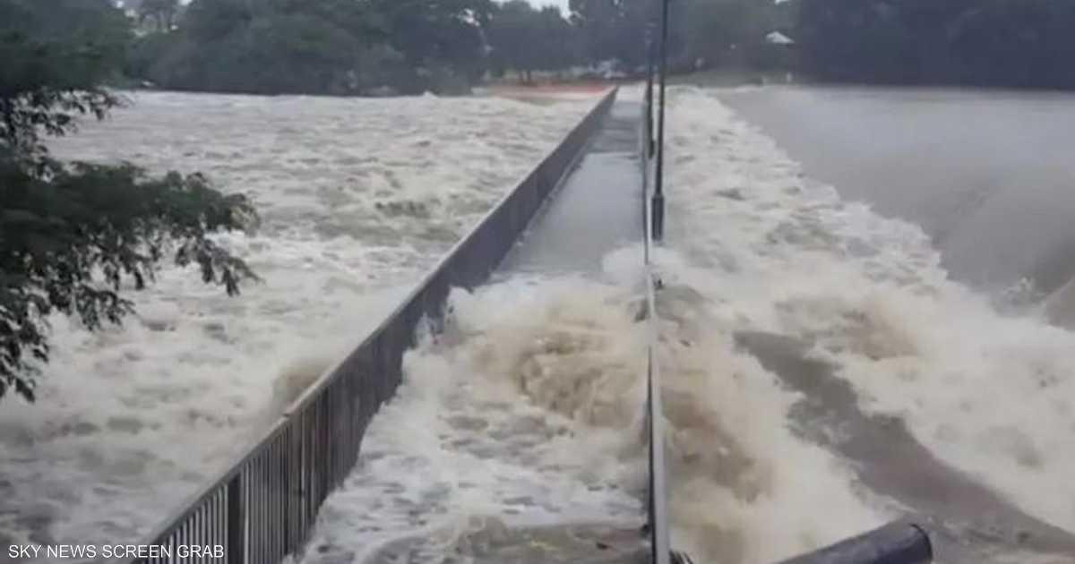 بالفيديو.. تماسيح في شوارع أستراليا بعد الفيضانات